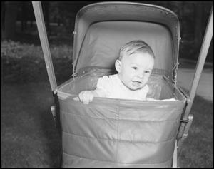 Primary view of [Baby in a Stroller, 1942]