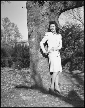 Primary view of object titled '[Cookie Cooper with Tree]'.