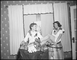 Primary view of object titled '[Delta Chi Delta - 1942 - Parties - Luau]'.