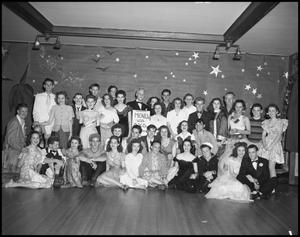 Primary view of object titled '[Delta Chi Delta Fun Formal, 1942]'.