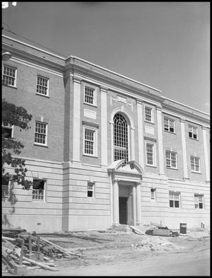 Primary view of object titled '[Matthews Hall Construction]'.