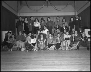 Primary view of object titled '[Group Photograph at Dance]'.