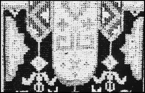 Primary view of object titled '[Weaving Design Detail]'.