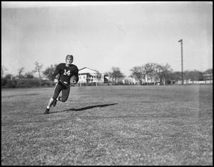 Primary view of object titled '[Football Player Running]'.
