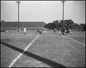 Primary view of object titled '[Football Practice]'.