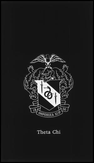 Primary view of object titled '[Theta Chi Fraternity Seal/Badge]'.