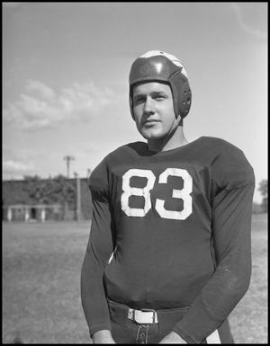 Primary view of object titled '[Jersey Number 83 Football Player]'.
