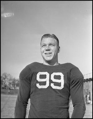 Primary view of object titled '[Jersey Number 99 Football Player]'.