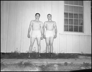 Primary view of object titled '[Two Shirtless Men]'.