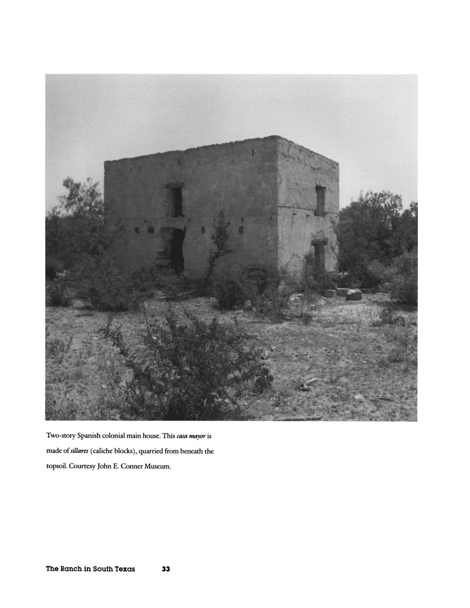 El Rancho in South Texas: Continuity and Change From 1750                                                                                                      33