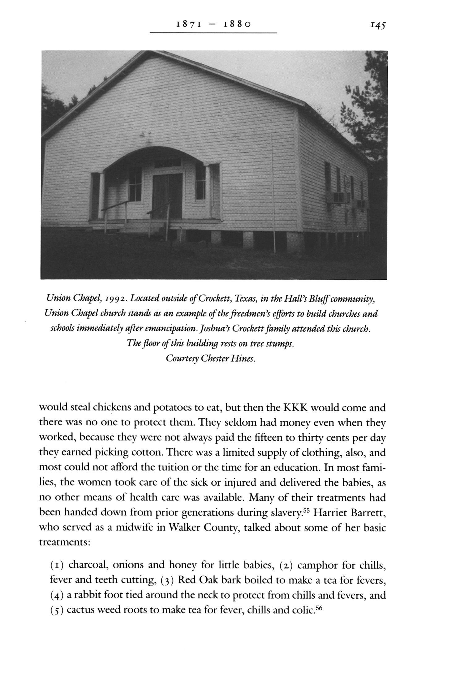 From Slave to Statesman: The Legacy of Joshua Houston, Servant to