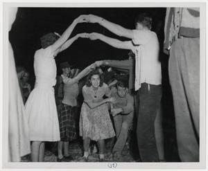 Primary view of object titled '[Stir-off Square Dance]'.