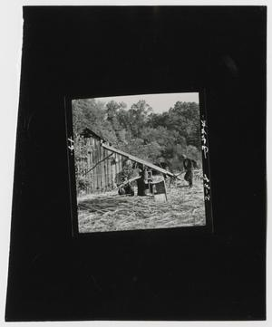 Primary view of object titled '[Sorghum Cane Press]'.