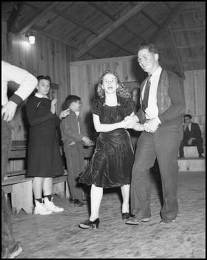 Primary view of object titled '[Square Dancers]'.
