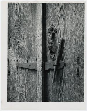 Primary view of object titled '[Church Door]'.