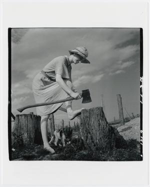 Primary view of object titled '[A Country Gal]'.