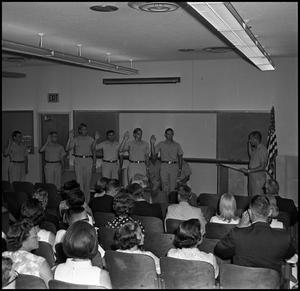 Primary view of [AFROTC Commissioning August 1967]
