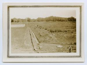 Primary view of object titled '[Pipeline Construction in a Field]'.
