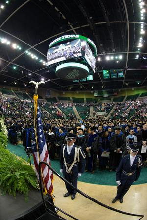 Primary view of object titled '[UNT Fall Commencement]'.