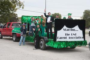 Primary view of object titled '[UNT Parent Association Float]'.