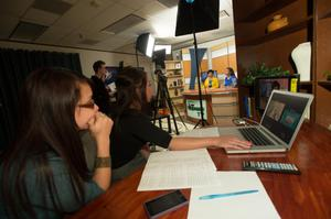 Primary view of [Photograph of the NTTV Studio, 3]