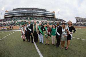 Primary view of object titled '[UNT Homecoming Court 2013]'.