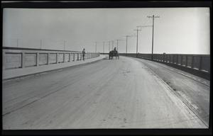 Primary view of object titled 'Wagon on Bridge, Pano. (panoramic)'.