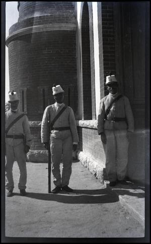 Primary view of object titled 'Soldiers, Juarez, El Paso, 1955'.