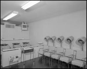 Primary view of object titled 'Beauty salon'.