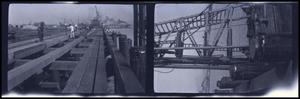 Primary view of object titled 'Bridge Construction Over Water'.