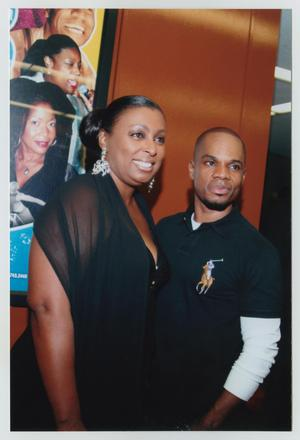 Primary view of object titled '[Kirk Franklin with Guest]'.