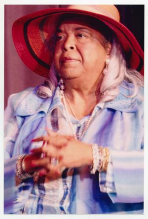 Primary view of object titled '[Della Reese on Stage]'.