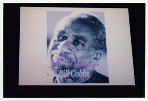 Primary view of object titled '[Bill Cobbs on Projection Screen]'.