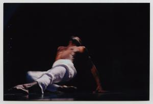 Primary view of object titled '[Dancer Performing on Stage]'.