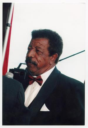 Primary view of object titled '[Hal Williams at TBAAL Anniversary Gala]'.