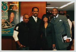 Primary view of object titled '[Kirk Franklin with Guests]'.