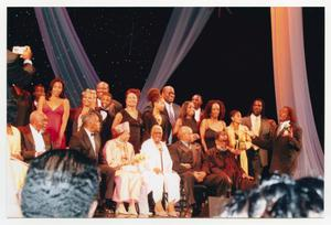 Primary view of object titled '[Several Special Guests on Stage]'.