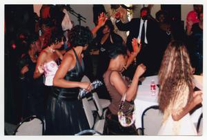Primary view of object titled '[Several Guests Dancing in Reception Room]'.