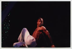 Primary view of object titled '[Unidentified Dancer on Stage]'.