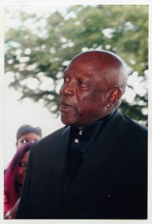 Primary view of object titled '[Louis Gossett Jr. on the Red Carpet]'.