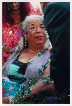 Primary view of object titled '[Della Reese Speaking to Interviewer]'.