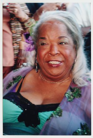 Primary view of object titled '[Close Up of Della Reese]'.
