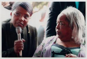 Primary view of object titled '[Della Reese at the TBAAL Anniversary Gala]'.