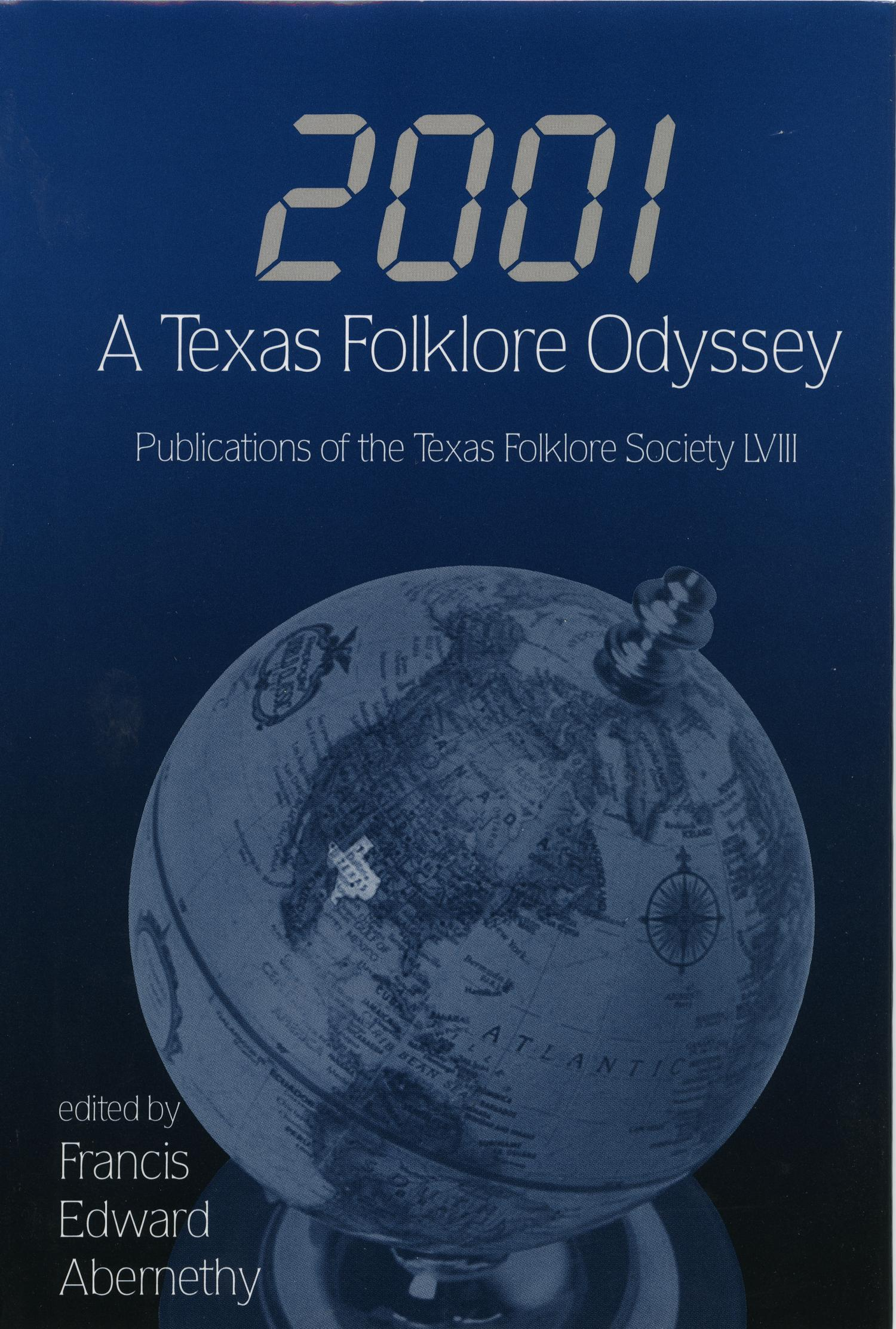 2001: A Texas Folklore Odyssey                                                                                                      Front Cover