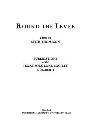 Primary view of object titled 'Round the Levee'.