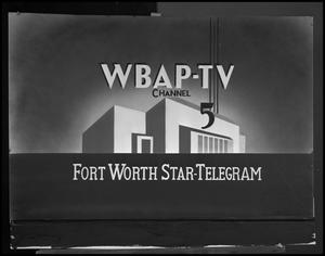 Primary view of object titled '[WBAP-TV and Fort Worth Star-Telegram Image]'.