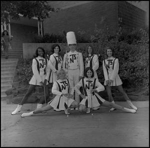 Primary view of object titled '[Marching Band Majorettes]'.