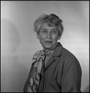 Primary view of object titled '[Photograph of Lois Ballard]'.