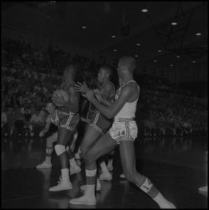 Primary view of object titled '[Basketball Game, NT vs Bradley University, February 8, 1962]'.