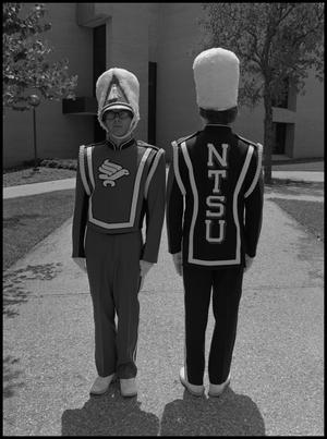 Primary view of object titled '[New Band Uniforms]'.